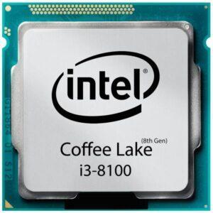 CPU CORE i3-8100