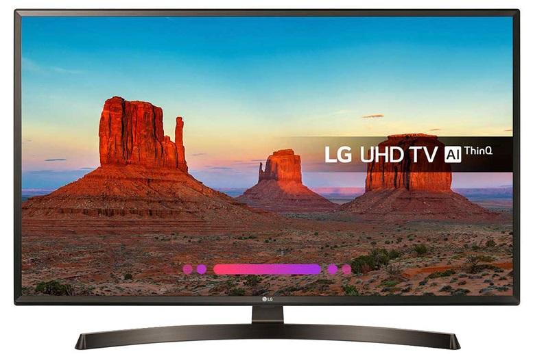 محصول جدید 2018 ال جی مدل 49UK6400PVC اندازه صفحه نمایش 49 اینچ اسمارت با سیستم عامل webOS 4.0 و پردازشگر چهار هسته ای کیفیت تصویر UHD با رزولیشن 2160*3840 نرخ تازه سازی تصویر TM100 Refresh Rate 120Hz دارای تیونر های DVB-T2/C/S2 صدای 2 کاناله با توان خروجی 20 وات دارای 2 پورت USB و 3 پورت HDMI ، وای فای و بلوتوث پنل قدرتمند IPS HDR چندگانه ی فعال HDR10 Pro ، 4K Active HDR ، HLG ، HDR Effect و دالبی ویژن دارای عمق رنگ عالی و کنتراست بالا کنترل نور به صورت اتوماتیک ارتقا دادن کیفیت های پایین به فورکا