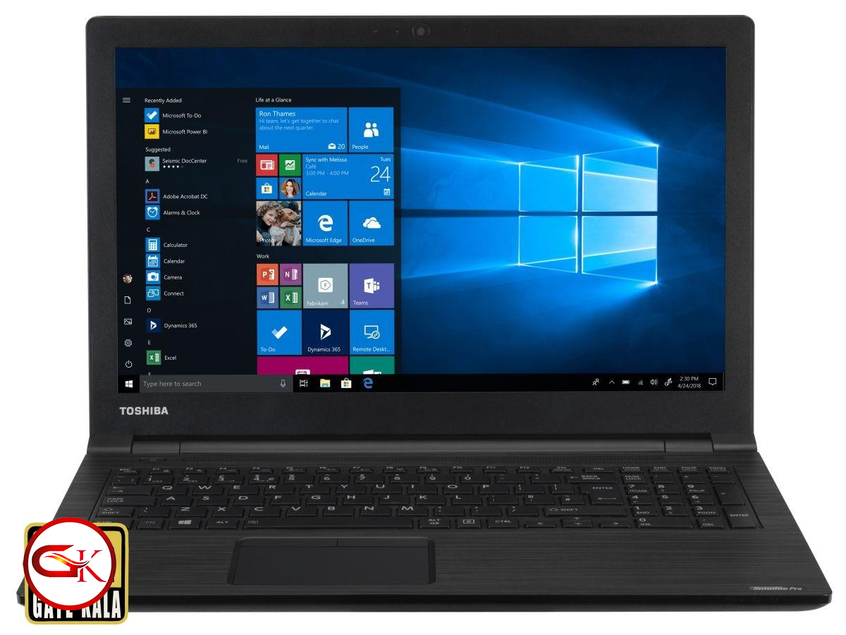 لپ تاپ توشیبا Toshiba dynabook satellite|CPU Core i3|4Gb|500GB|VGA Intel HD