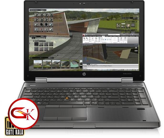 لپ تاپ اچ پی hp 8570w|core i7|8gb|500|1gb ddr5