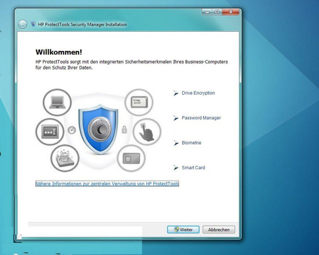 امنیت HP 6570b