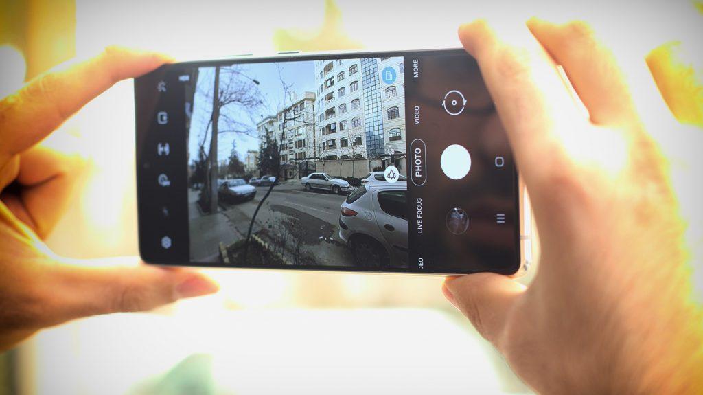 دوربین GALAXY S10 Lite