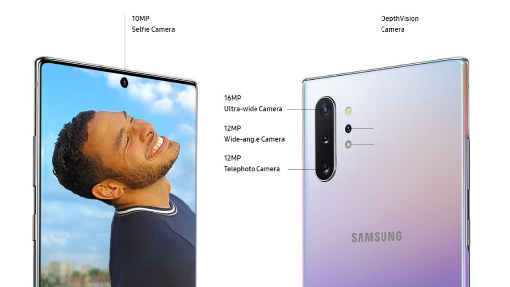 دوربین GALAXY NOTE 10 PLUS
