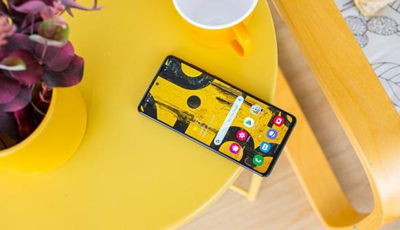 صفحه نمایش Galaxy Note10 Lite