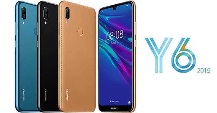 طراحی Huawei Y6 2019