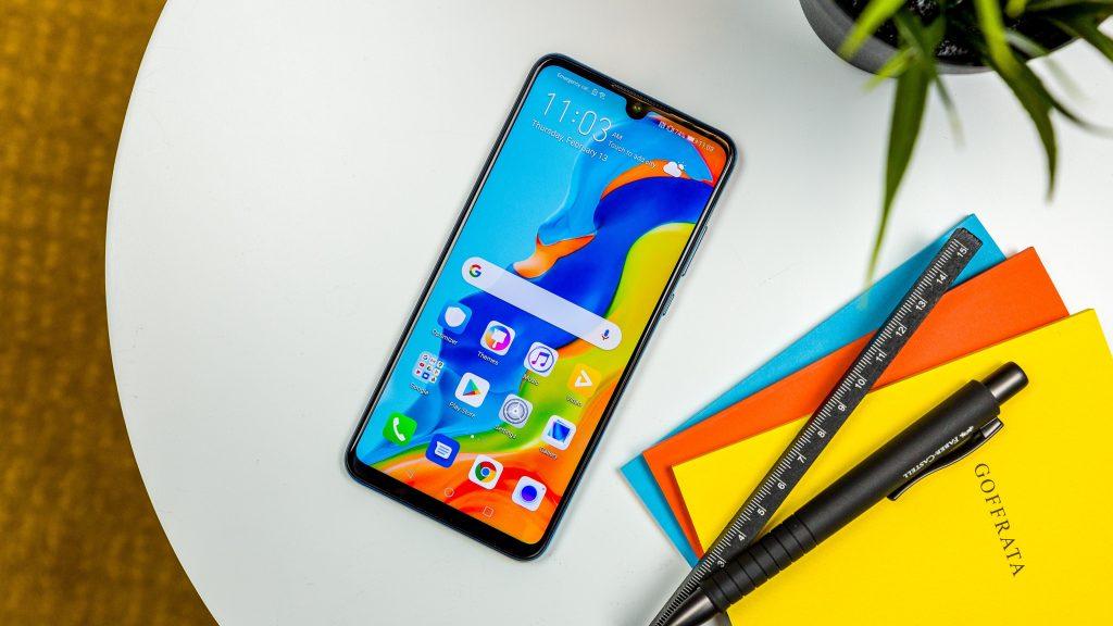 صفحه نمایش Huawei p30 lite