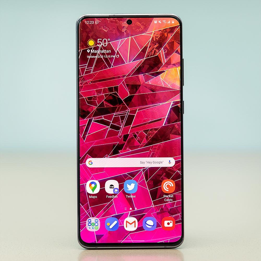 صفحه نمایش Galaxy S20 Ultra