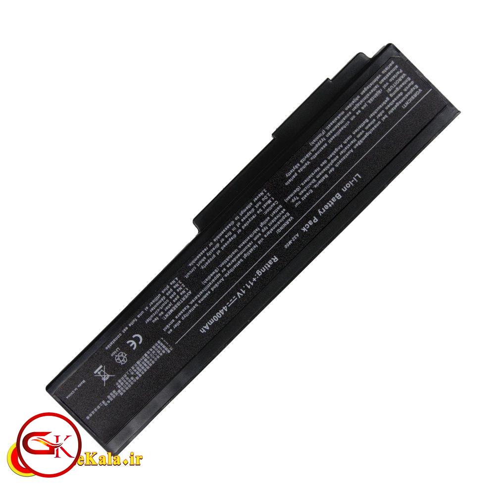 بررسی باتری لپ تاپ ایسوس G60