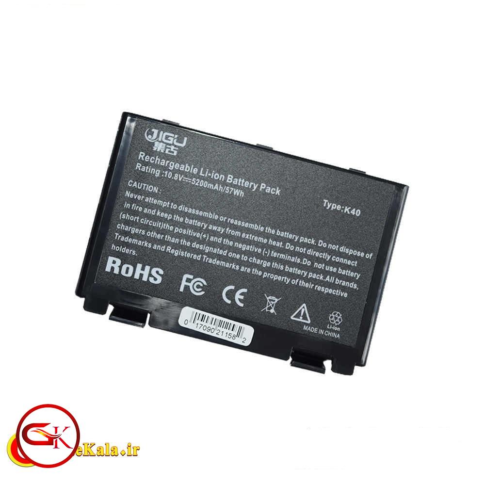 کیفیت باتری لپ تاپ Asus X5J