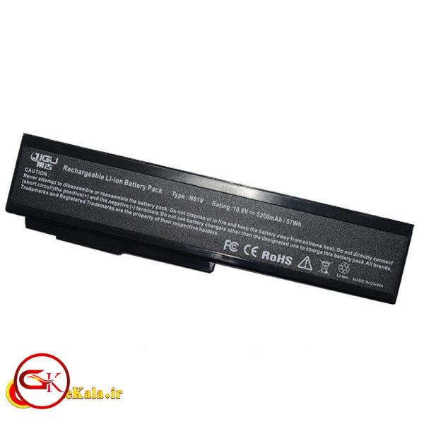 بررسی باتری لپ تاپ Asus M60