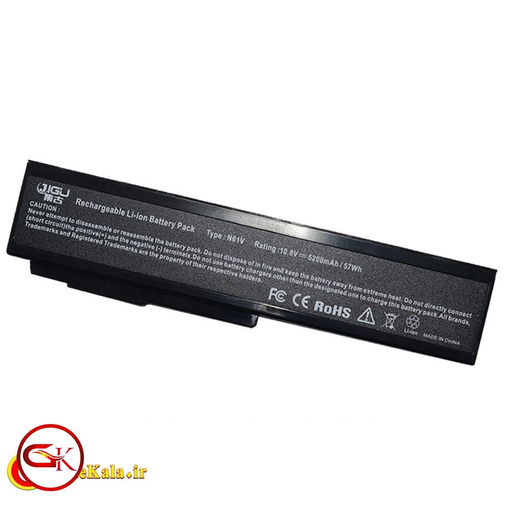 باتری 6 سلولی لپ تاپ ایسوس Asus M60