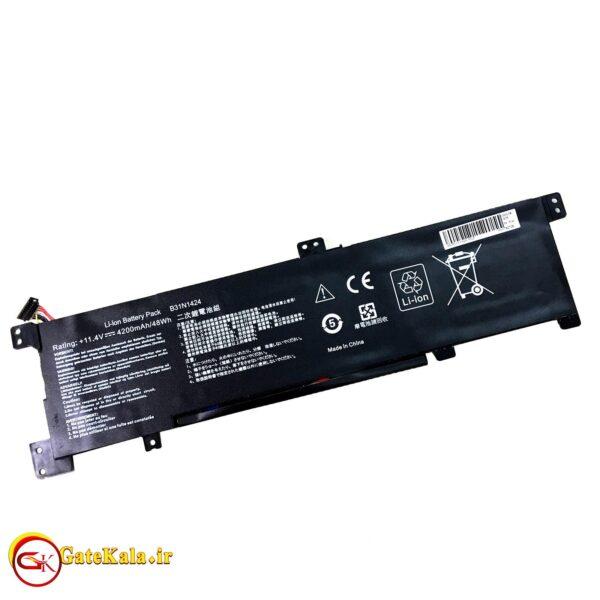 بررسی باتری لپ تاپ ایسوس K401