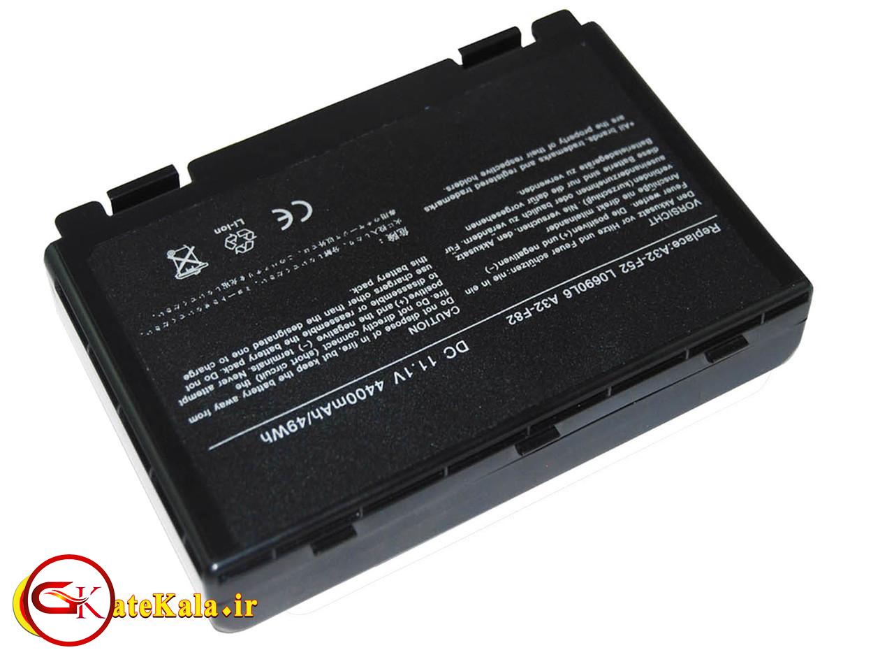 باتری شش سلولی لپ تاپ ایسوس Asus X70
