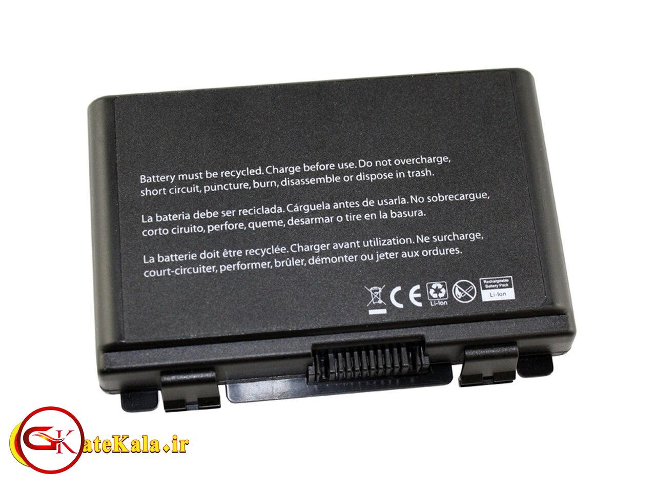 باتری شش سلولی لپ تاپ ایسوس Asus K70
