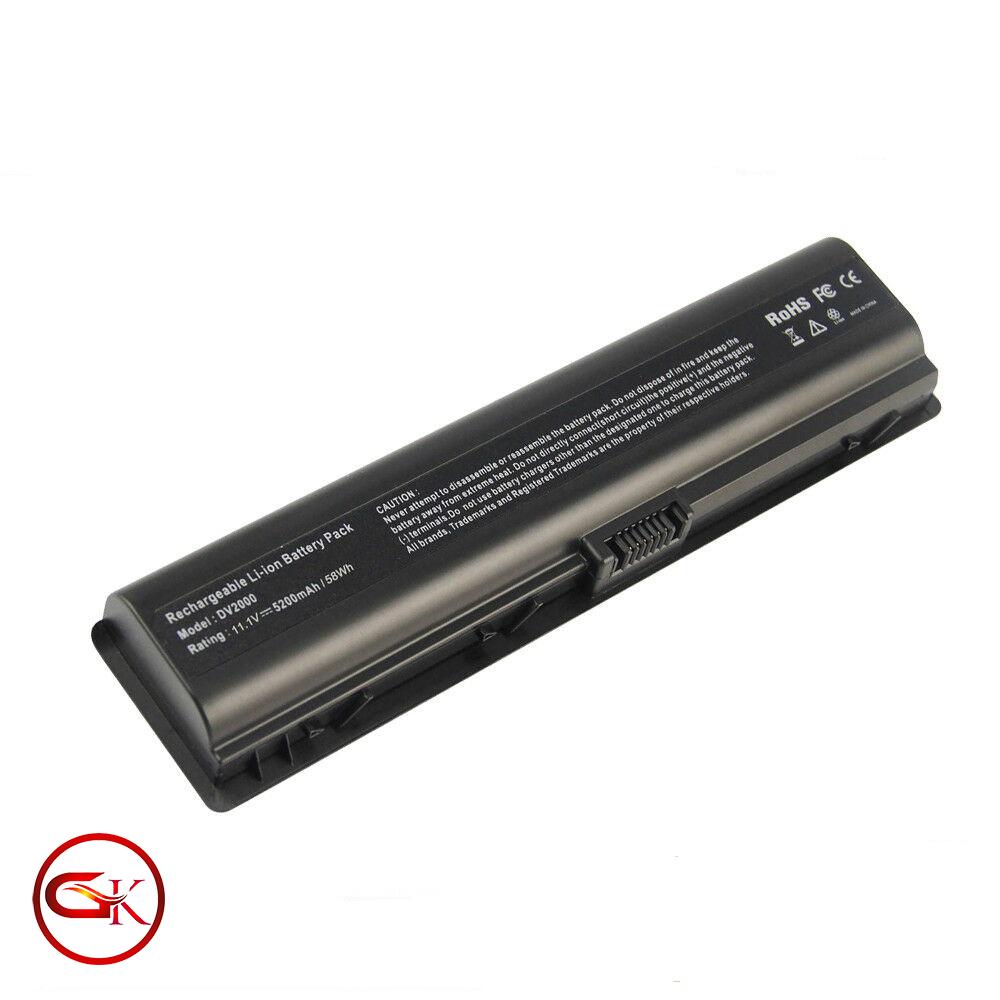 باتری شش سلولی لپ تاپ اچ پی پاویلیون HP Pavilion DV2000