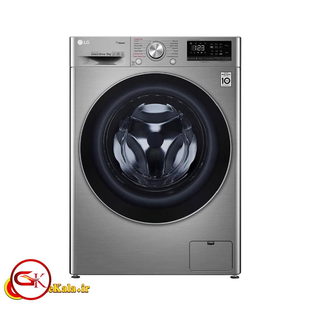 ماشین لباسشویی ال جی مدل LG 4j6 با ظرفیت 8.5 کیلویی
