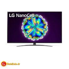تلویزیون 55 اینچ ال جی مدل LG NANO86 با کیفیت تصویر 4K