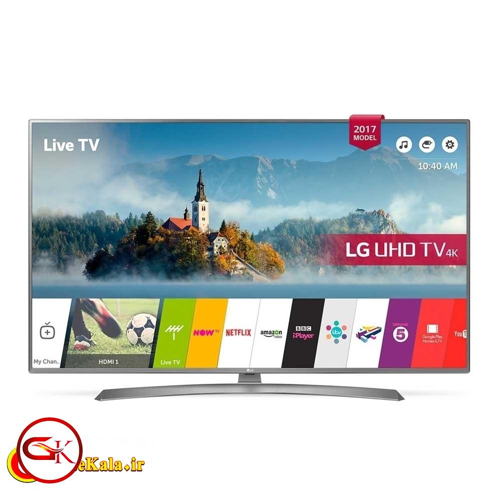تلویزیون 55 اینچ ال جی مدل LG UK6700 vk با کیفیت تصویر 4K