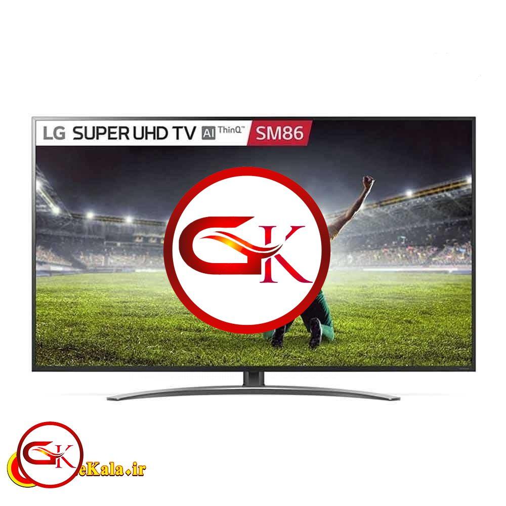 تلویزیون 55 اینچ ال جی مدل LG SM8600 vk با کیفیت تصویر 4K
