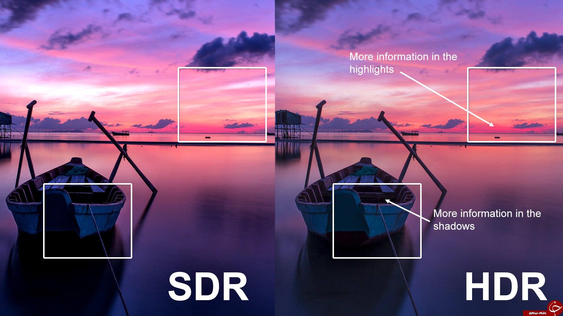 ویژگی HDR