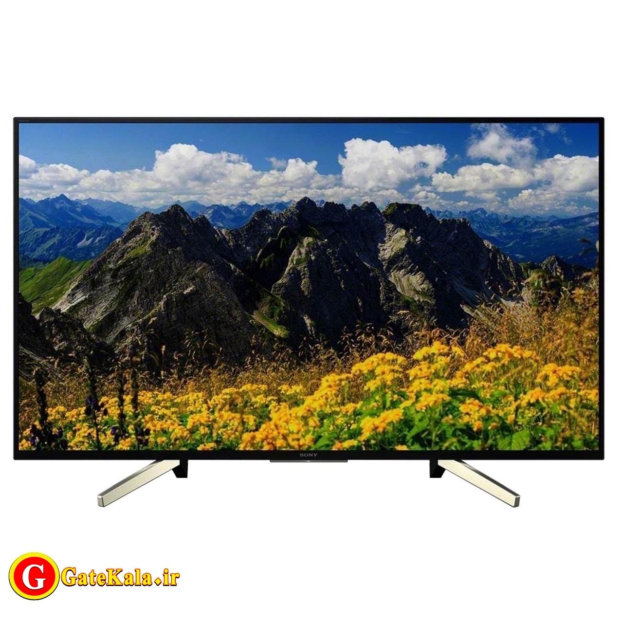تلویزیون 65 اینچی Sony X8000 با کیفیت تصویر 4K