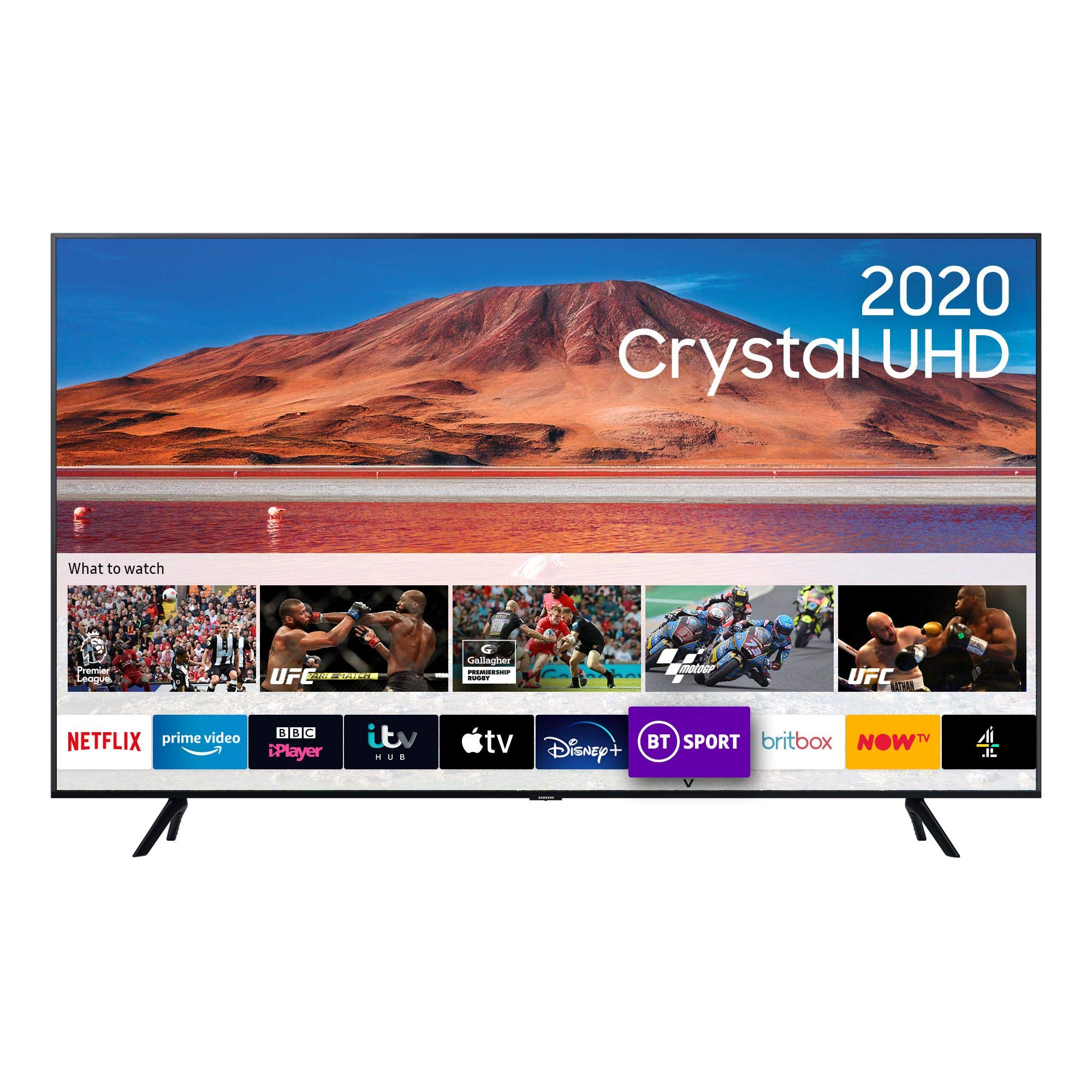 تلویزیون 55 اینچ Samsung TU8000 با کیفیت تصویر 4K