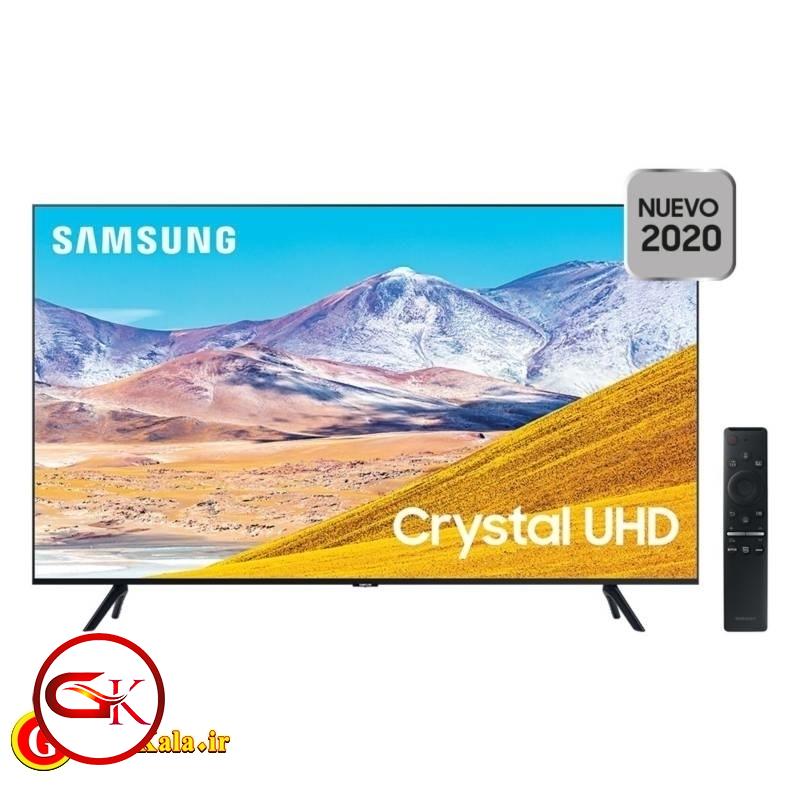 تلویزیون 55 اینچی Samsung T8000 با کیفیت تصویر 4K