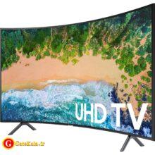 تلویزیون منحنی 55 اینچ Samsung NU7300 با کیفیت تصویر 4K