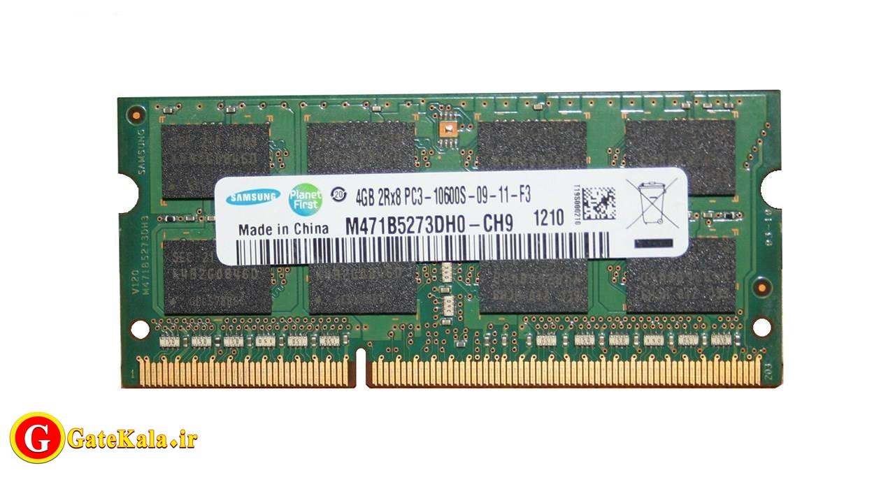 رم لپ تاپ سامسونگ 4G DDR3 1333